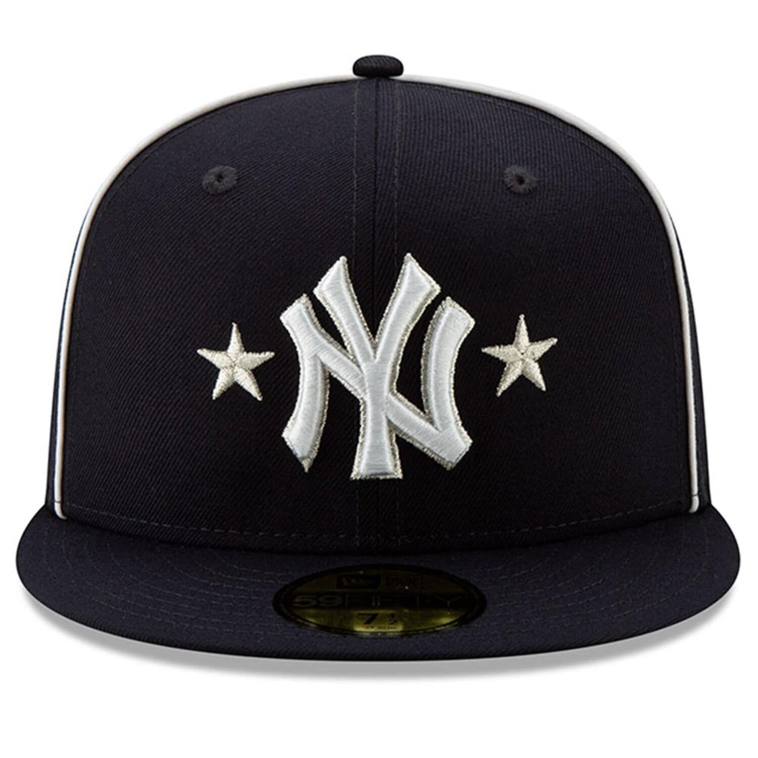 Men S New Era Navy New York Yankees 2019 Mlb All Star Game On Field 59fifty Fitted Hat Fitted Hats New York Yankees New Era