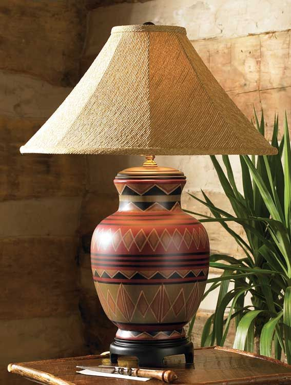Granado Lamp Item 3587 From The Bob Timberlake Collection