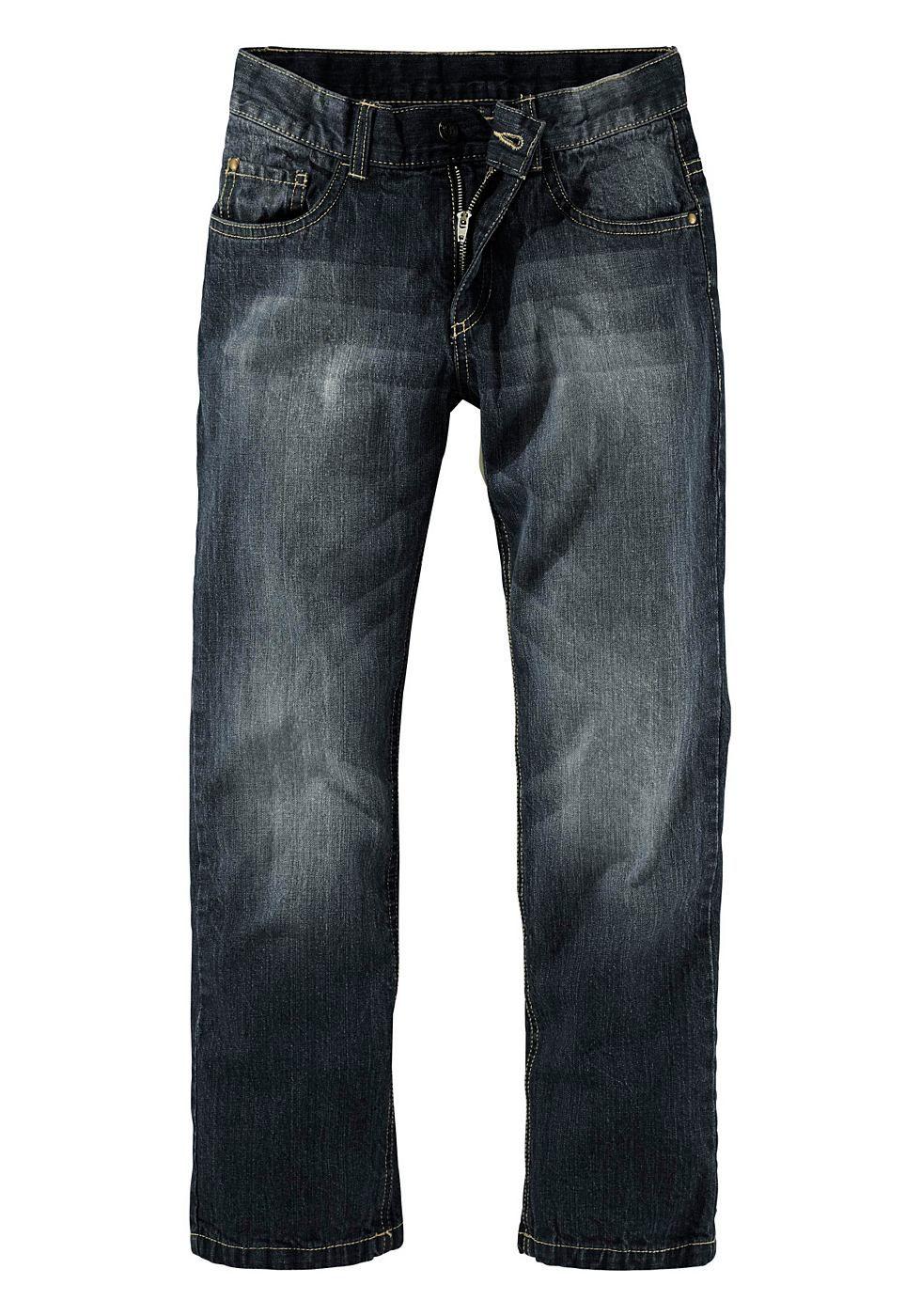 c014534d0e4b76 Buffalo Regular-fit-Jeans, mit geradem Bein und cooler Waschung