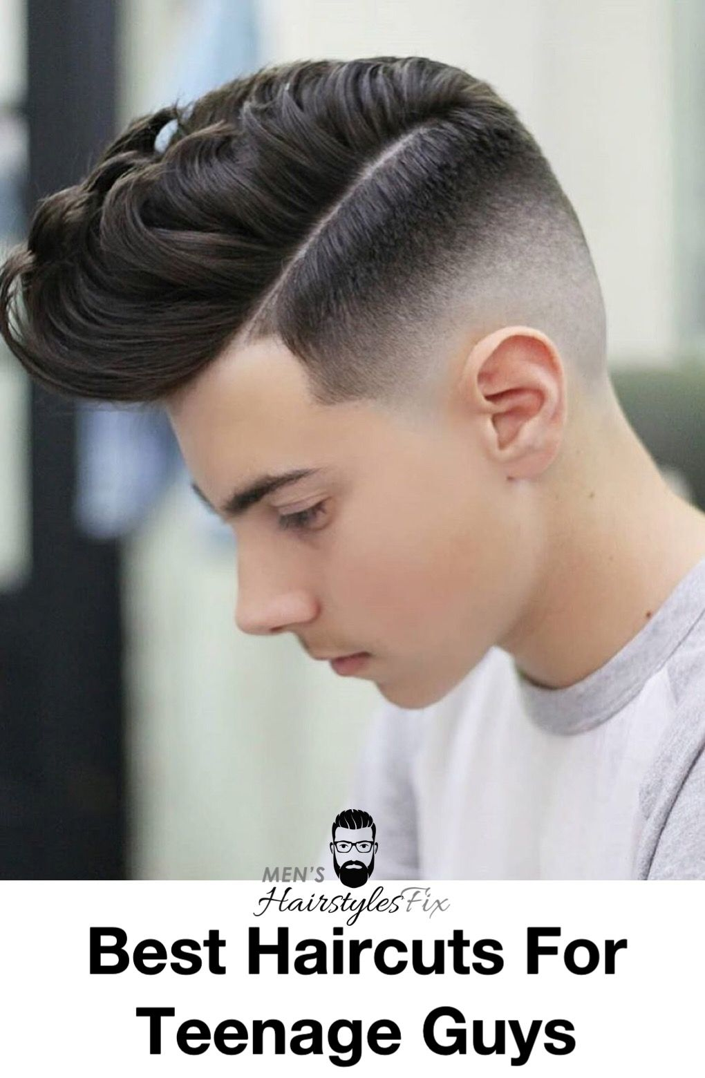 33 Cooler Than Ever Haircuts For Teenage Guys Haircuts Pinterest