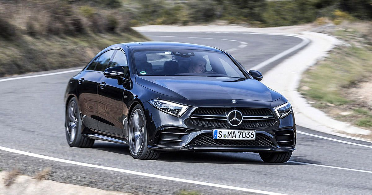 2019 Mercedes Amg Cls53 First Drive Forget Me Not With Images