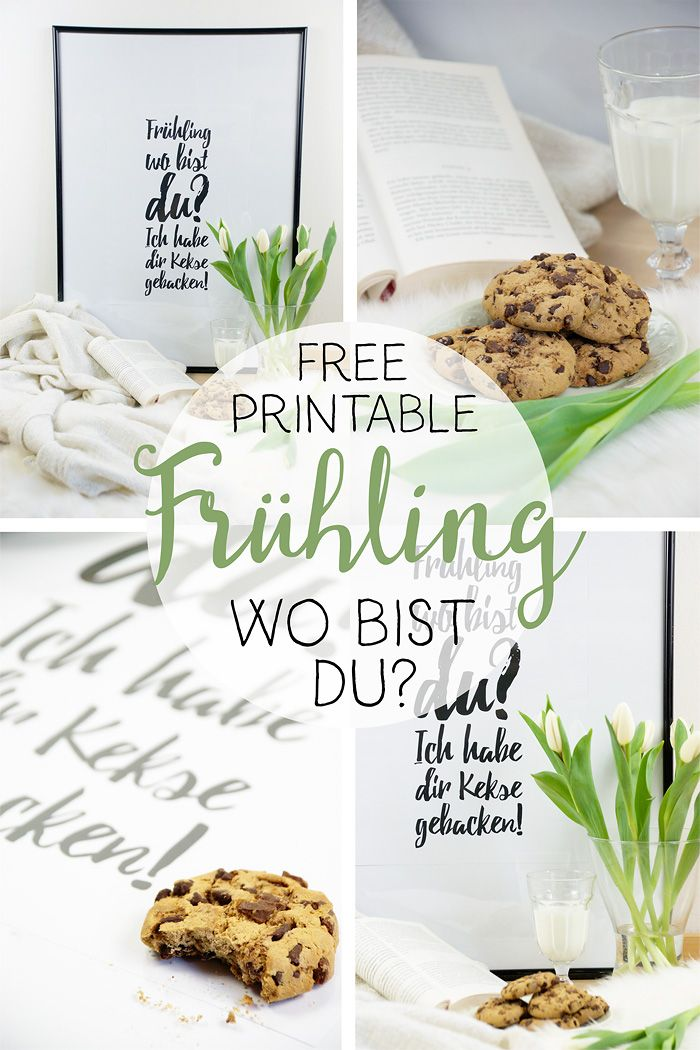 diy fr hling wo bist du ich habe dir kekse gebacken free printable barfuss im november. Black Bedroom Furniture Sets. Home Design Ideas