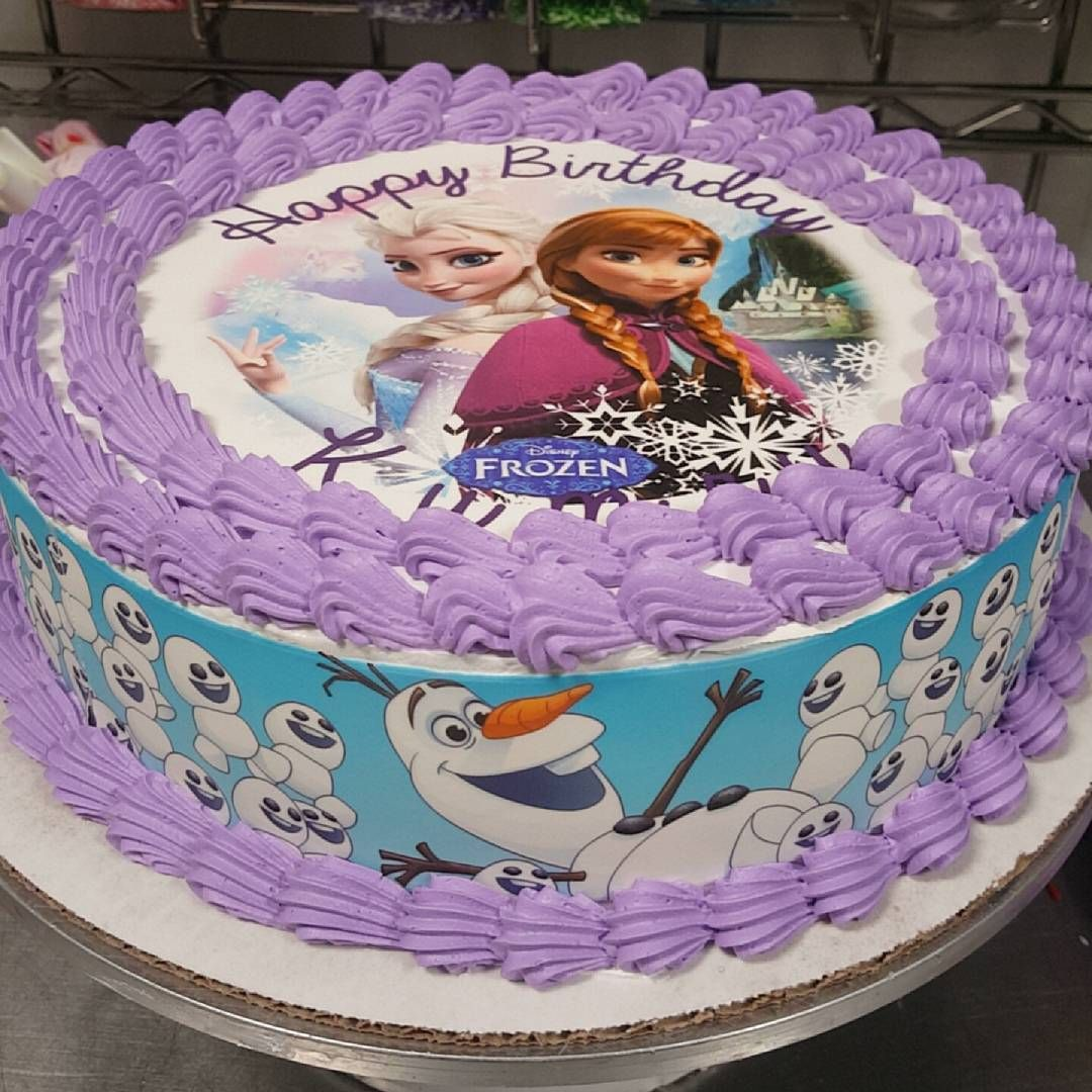 Its a winter wonderland Customize your birthday cake today at Long
