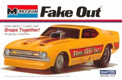 Monogram Fake Out funny car