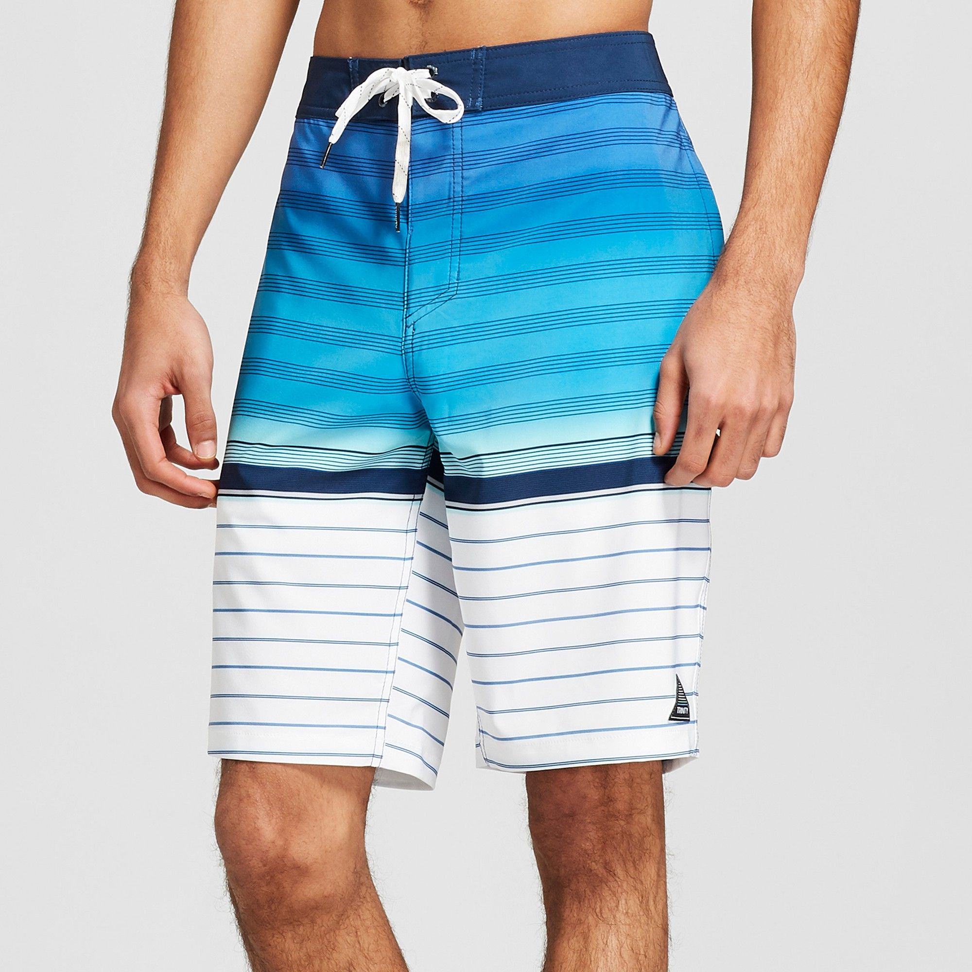 d74cc8d545 Men's Striped 10 Logical Board Shorts - Trinity Blue 32 | Products ...
