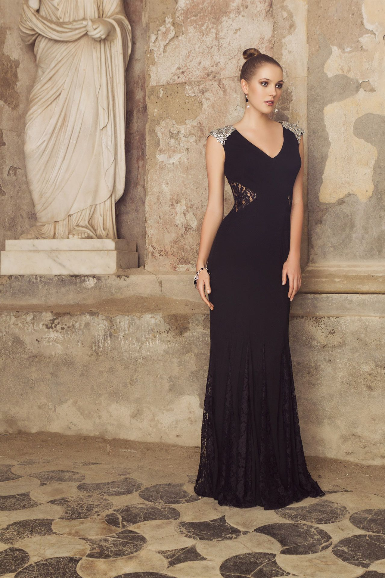 #imperocouture #abiti #dress #cerimonia #abito #sera #ceremony #cocktaildress #partydress #damigella #redcarpetdress #bridesmaid #bridesmaiddres #black #nero