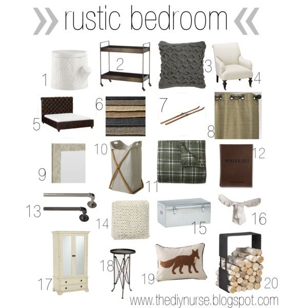 Rustic Bedroom Moodboard Moodboard Rusticbedroom Diy