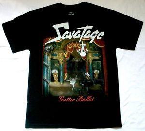 Savatage Gutter Ballet 89 Jon Oliva Heavy Progressive Metal New Black T Shirt | eBay