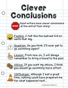 conclusion examples for essays