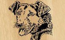 Scroll saw patterns | 001-dog