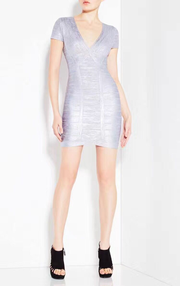 >> Click to Buy << High Quality Silver Print Sexy Bodycon Rayon Bandage Dress Fashion Party Dress #Affiliate
