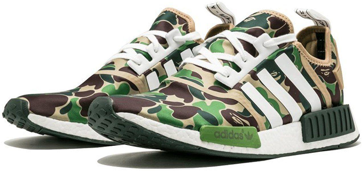 separation shoes b1706 049c0 NMD R1 BAPE  BAPE  - SIZE 5  Amazon.co.uk  Shoes   Bags