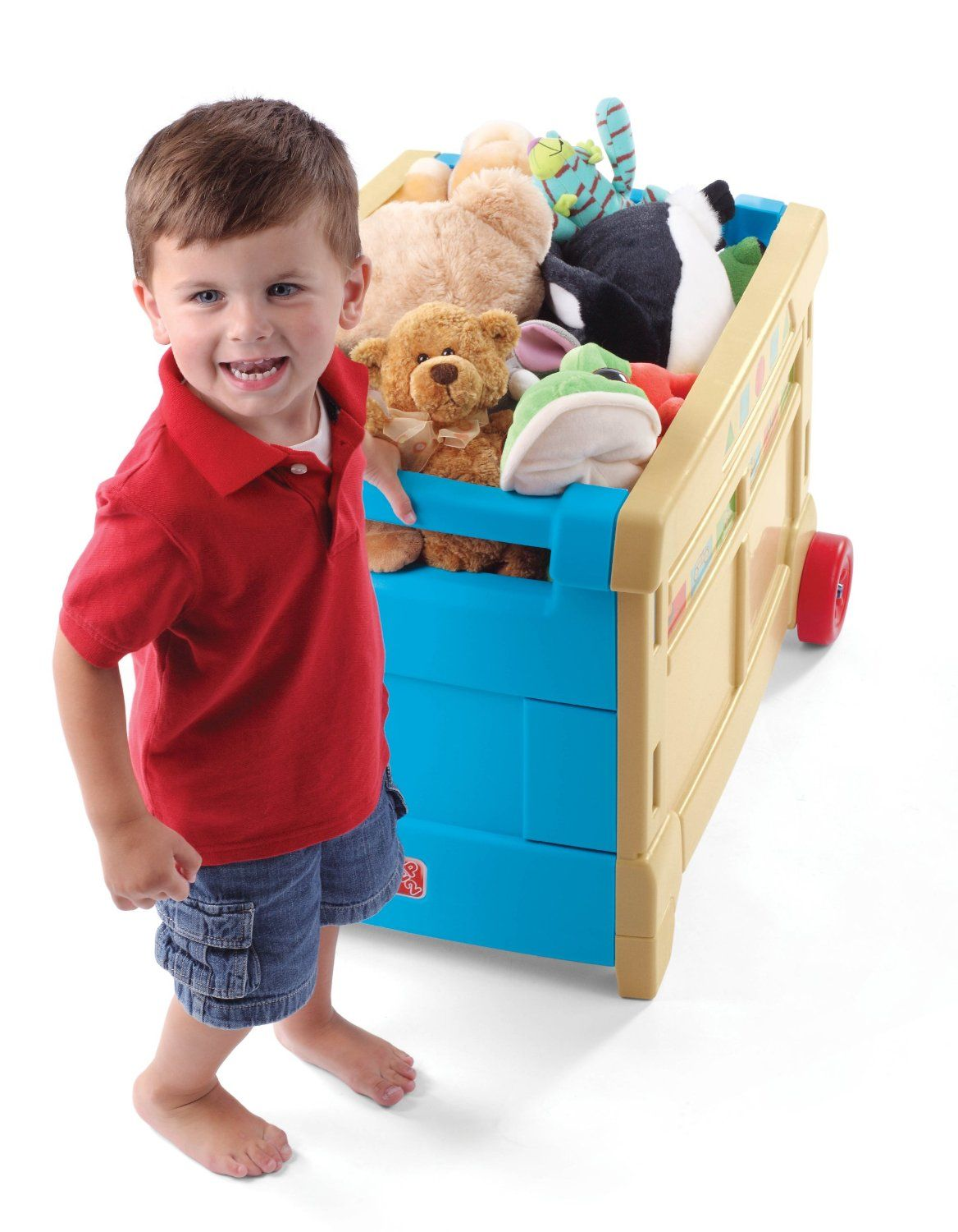 Step2 Lift and Roll Toy Box Only $37.49 Shipped! (reg. $49.99)  sc 1 st  Pinterest & Step2 Lift and Roll Toy Box Only $35.70! (reg. $49.99 | Pinterest ...