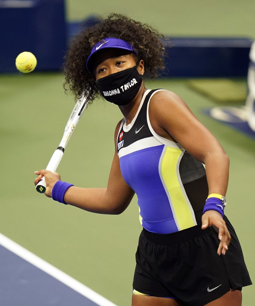 Naomi Osakas Second Us Open Mask Honors Elijah Mcclain Update Naomi Osaka Returned To Arthur Ashe Stadium On Wednesday Even In 2020 Black Lives Naomi Breonna Taylor