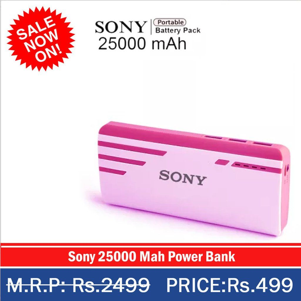 Sony 25000 Mah Power Bank Pinterest Powerbank Portable Charge Cp S20 20000 Black Branding