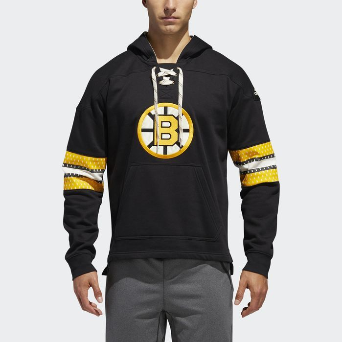 ee8b0a12b adidas Bruins Jersey Pullover Hoodie   Products   Pullover, Hoodies ...