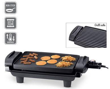 Aldi Elektrogrill Ambiano Test : Aldi us ambiano nonstick reversible grill & griddle peters