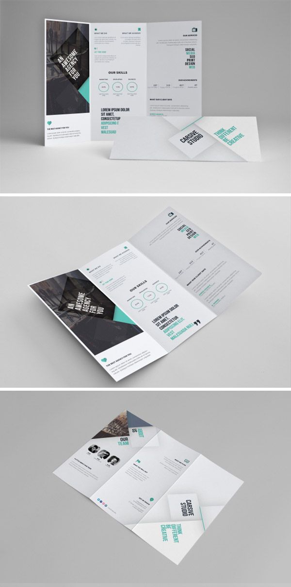 15 Free Brochure Templates For Designers To Have Pinterest Free
