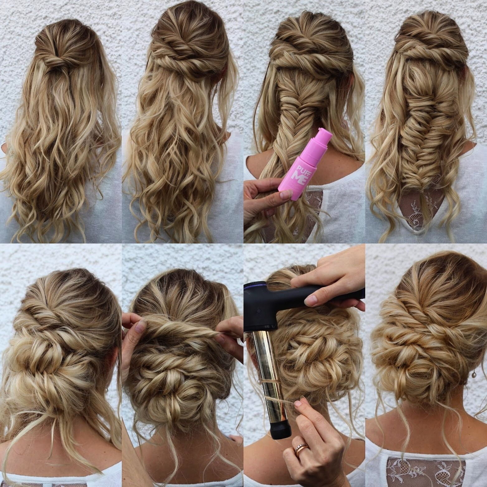 Step By Step Hair Updo Tutorial Ad 1 Updo Theupdogirl Hairgoals Hair Step Tutorial Updo Hair Updos Tutorials Hair Styles Long Hair Updo