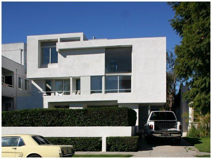 Pearl Mackey Apartment Building 1939 Designed By Rudolf M Schindler 1137 S Cochran Avenue Los Angeles