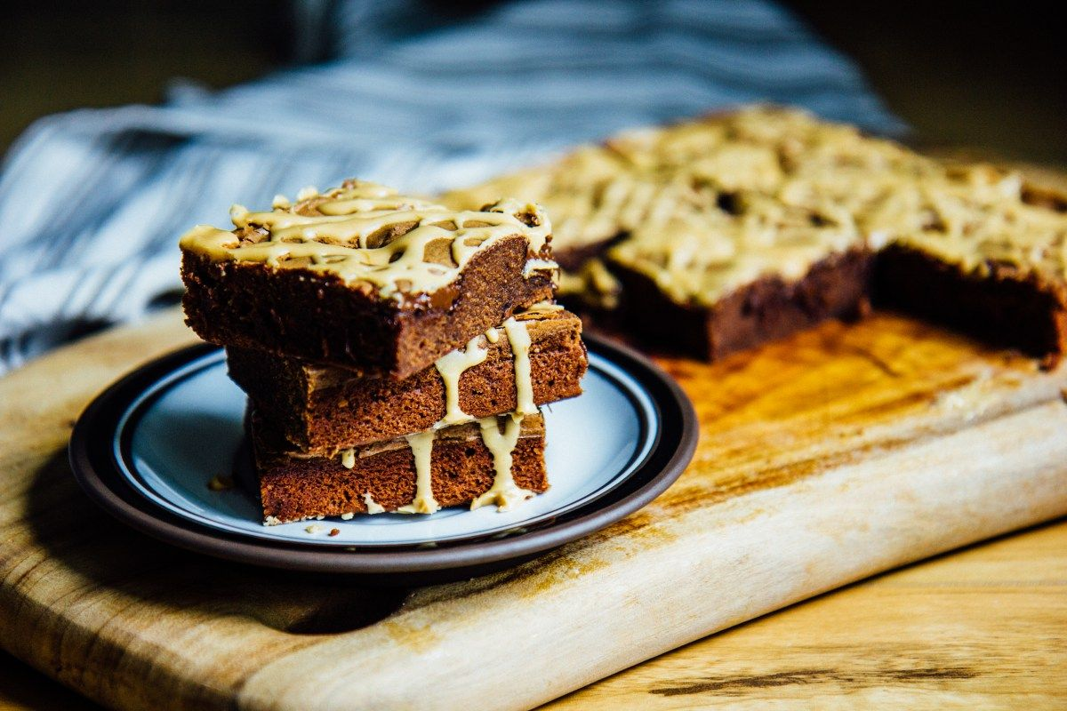 Chocolate espresso brownies | The Swirling Spoon
