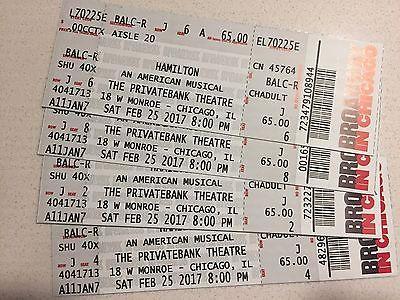 #Theater - Hamilton Chicago Tickets 02/25/17 8 PM (Chicago) - Hardcopy https://t.co/IBKXp70t4g https://t.co/J9WqgZrqvA