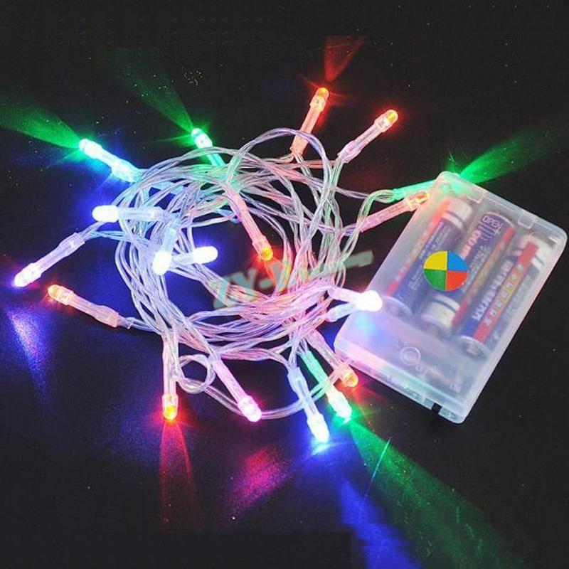100pcs String Light Led Battery 3m 30leds Christmas Lights Holiday Wedding Us 192 98