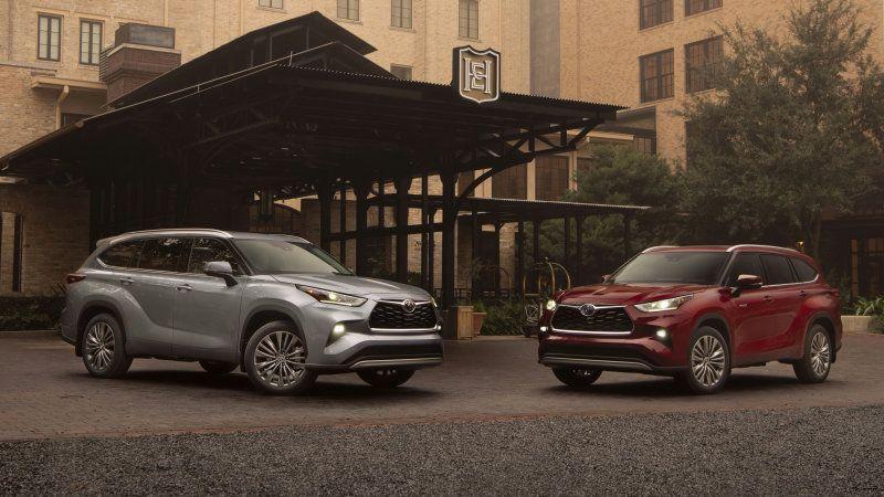 2020 Toyota Highlander Highlander Hybrid Pricing Announced Toyota Highlander Fuel Economy Toyota