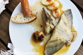 Rodaballo A La Gallega Galician Turbot Comida Recetas De Comida Pescados Y Mariscos