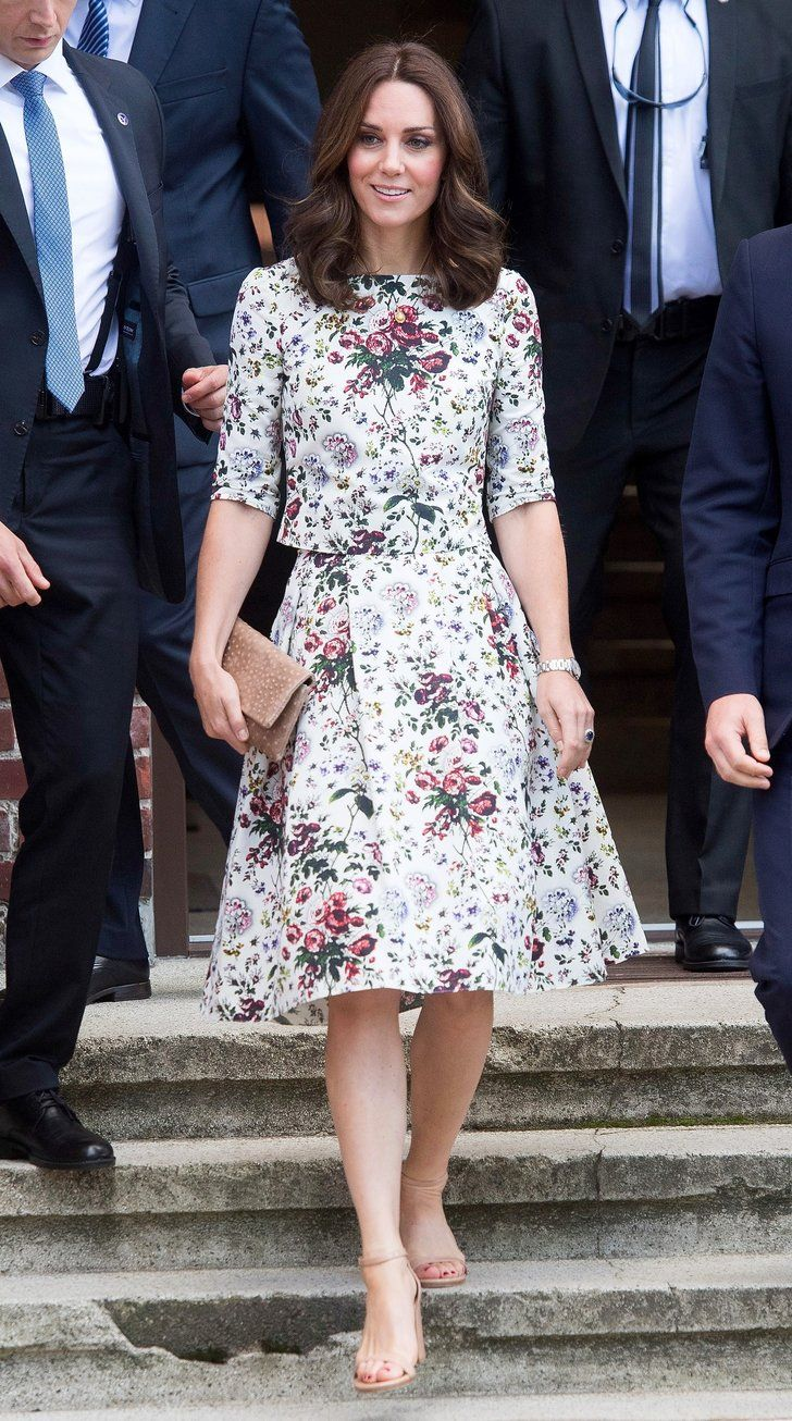 35b3ab02c9e4 Kate Middleton's Floral Summer Set Is So Much Better Than a Dress ...