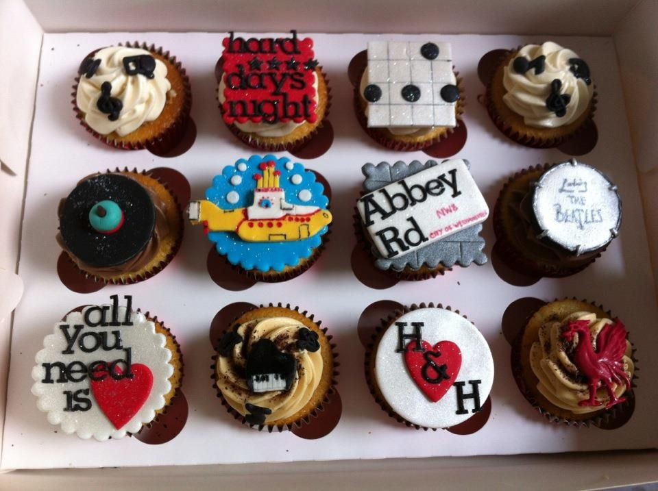 Beatles Cupcakes Rain A Tribute To The Beatles Live On Stage At