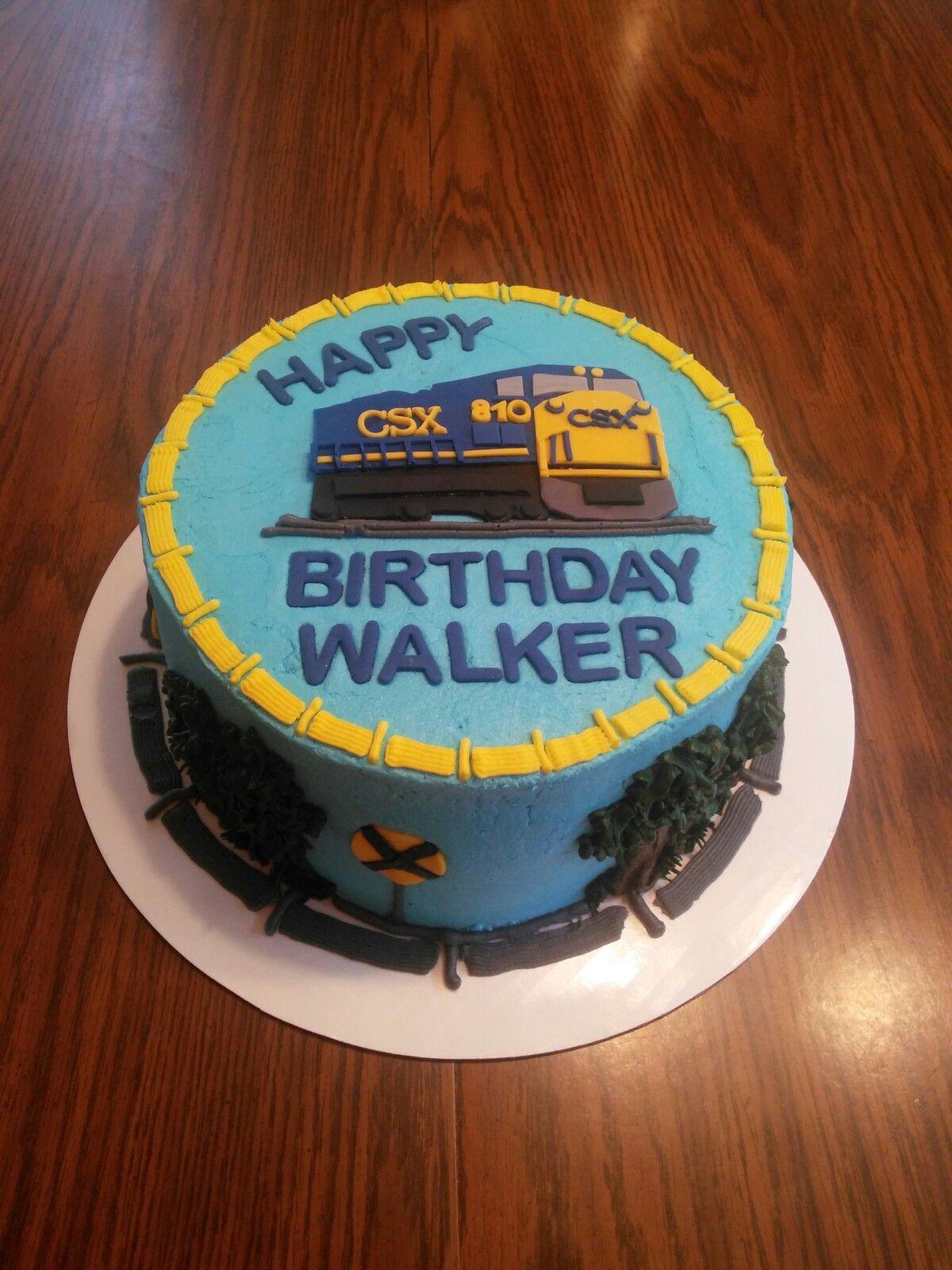 Csx Train Cake Parker P S Party Cakes By Jan Boy