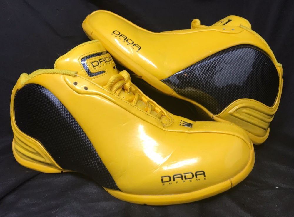 uk availability cced4 62909 Dada Supreme Shoes Size 10.5 yellow and carbon fiber  dada
