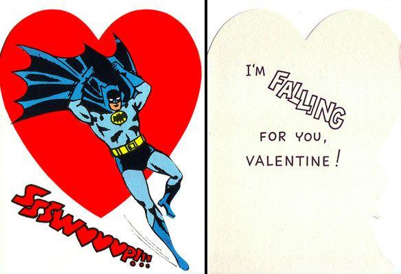 Batman Puns Valentines Day 3 Just Stuff – Batman Valentines Day Card