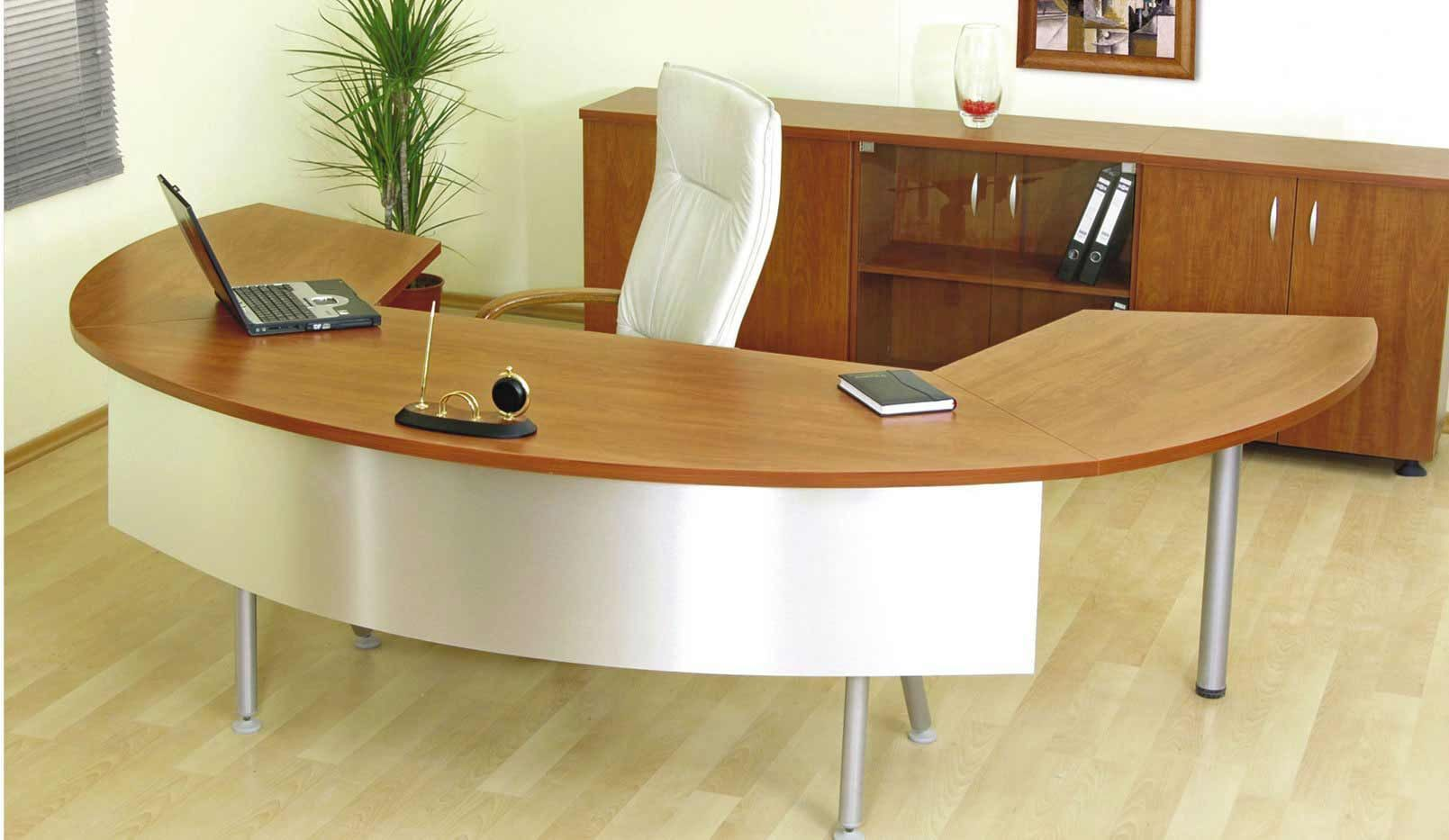 Accessories furniture awesome unique desks for home office design ideas with stylish curved - Unique office desk accessories ...