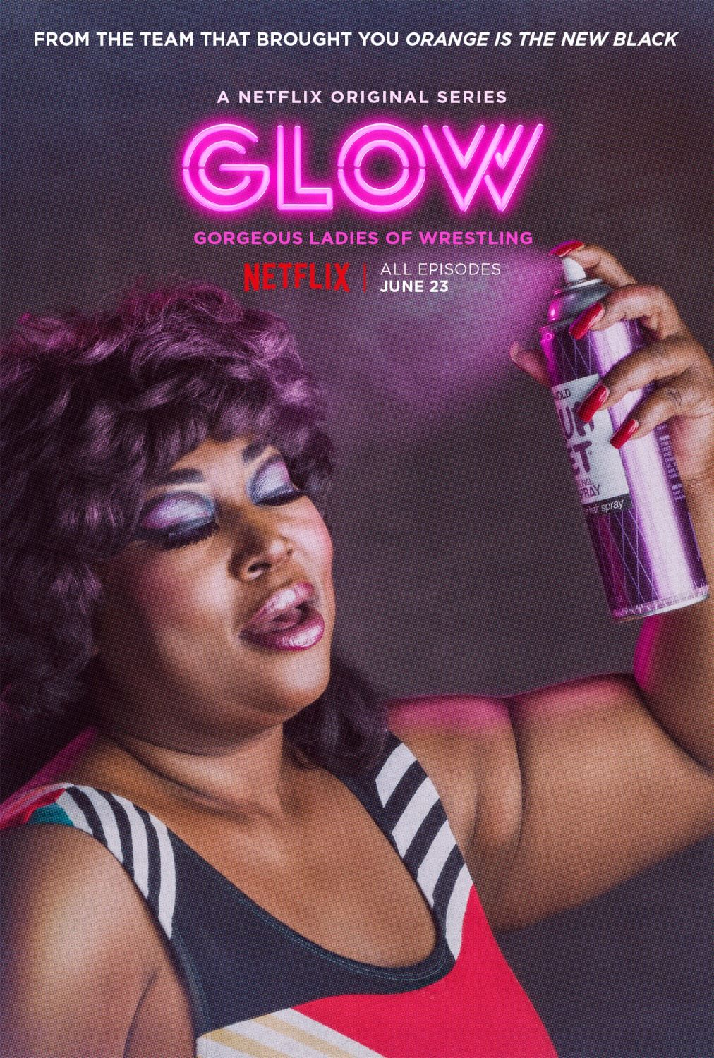 Glow series trailers featurette images and posters