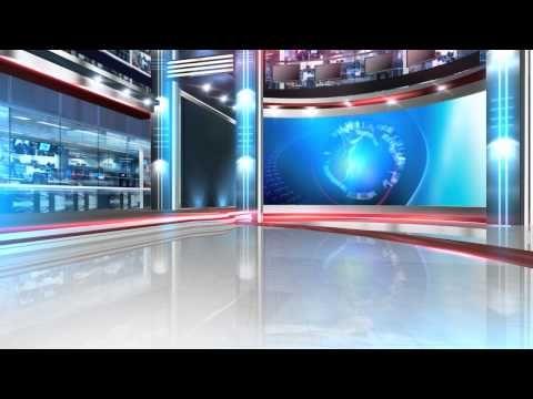 Green Screen News Studio Backgrounds Free