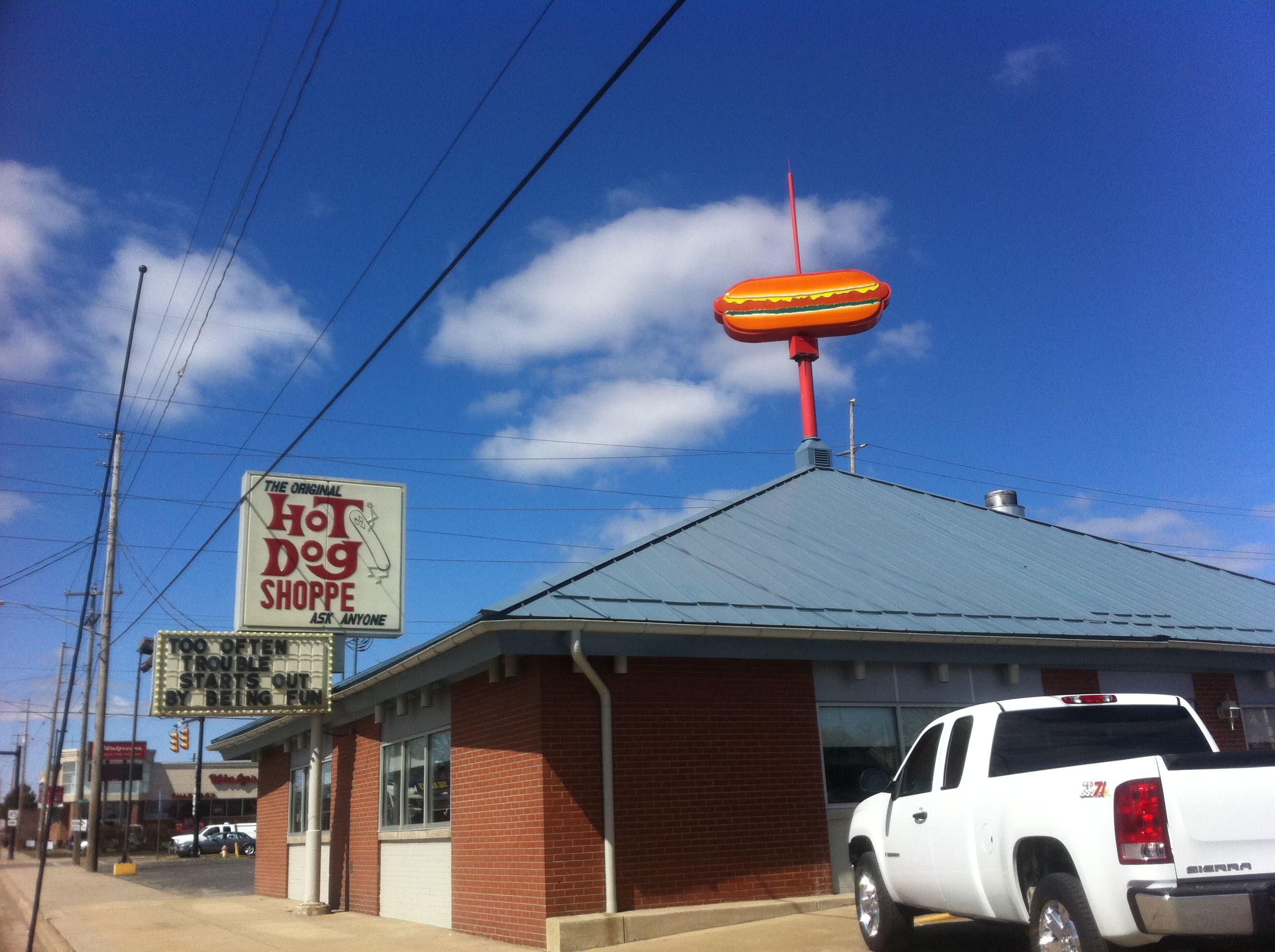 hot dog shoppe warren ohio
