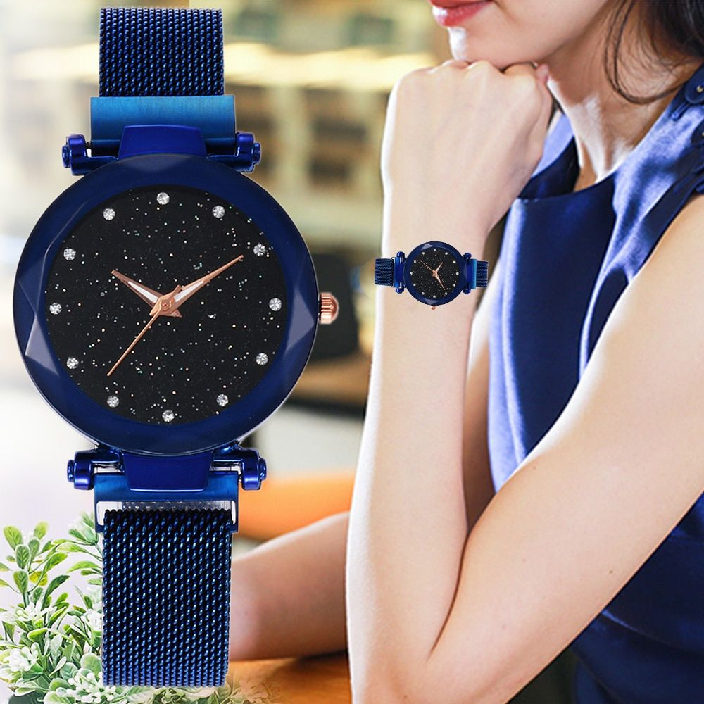 923969a1a Magnet Buckle Starry Sky Watch in 2019 | watches | Sky watch, Quartz ...