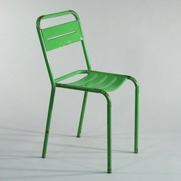 Brasserie-Stuhl grn - old coffeehouse chair green ...