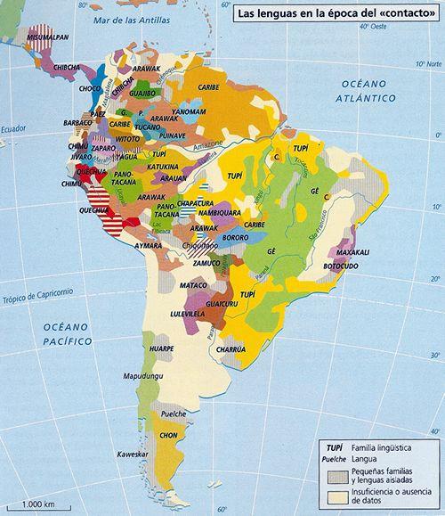 Lenguas Amerindias Pueblos Originarios De América Mapa De America Conquista De America Geografia E Historia