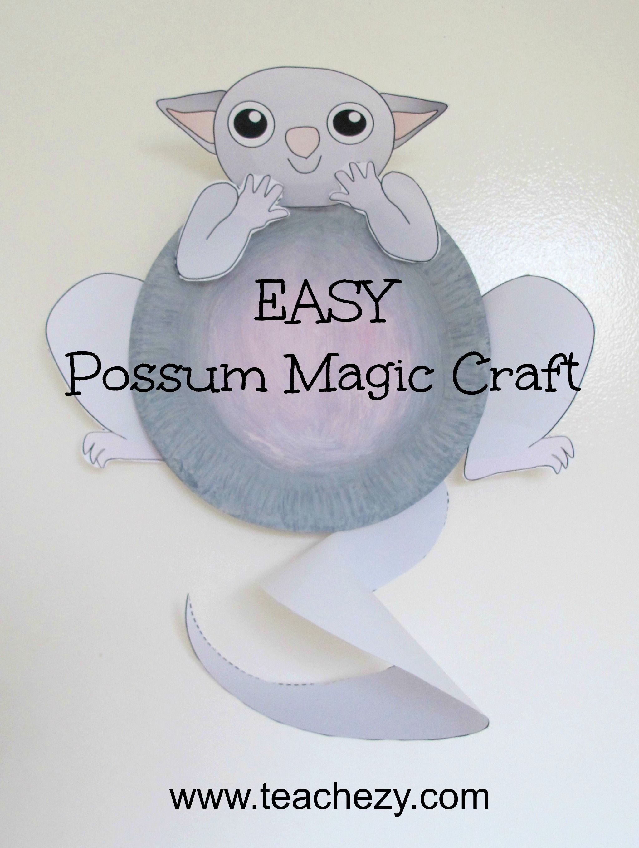 Possum Magic Worksheet
