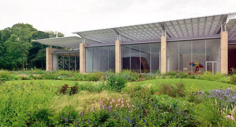 Jardín de Piet Oudolf en el Museo Voorlinden