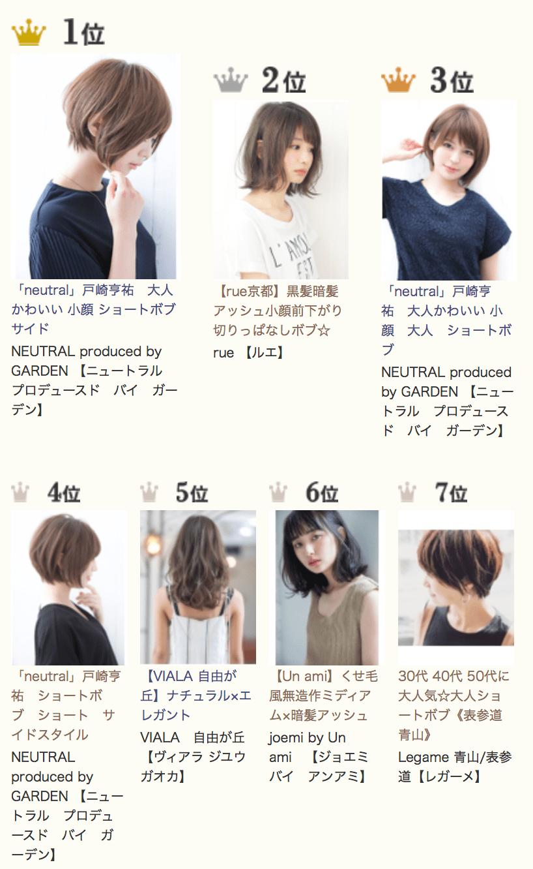 20代 30代女性の流行り 人気の髪型 大人ショートボブ 2019 Suwai
