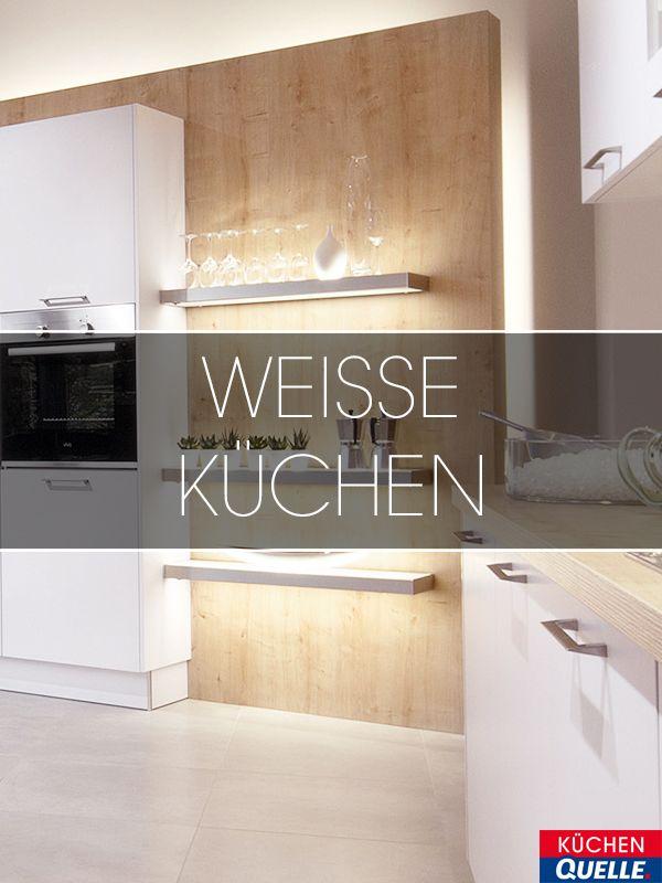 Waren weiße Küchen vor einiger Zeit noch ein neuer Trend, haben sie - www küchen quelle de