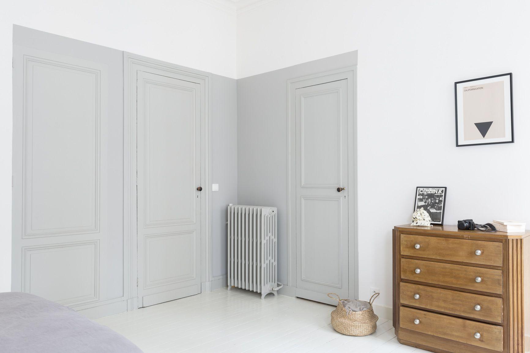 Peindre Couloir Gris Perle rénovation décoration maison bourgeoise | décoration maison