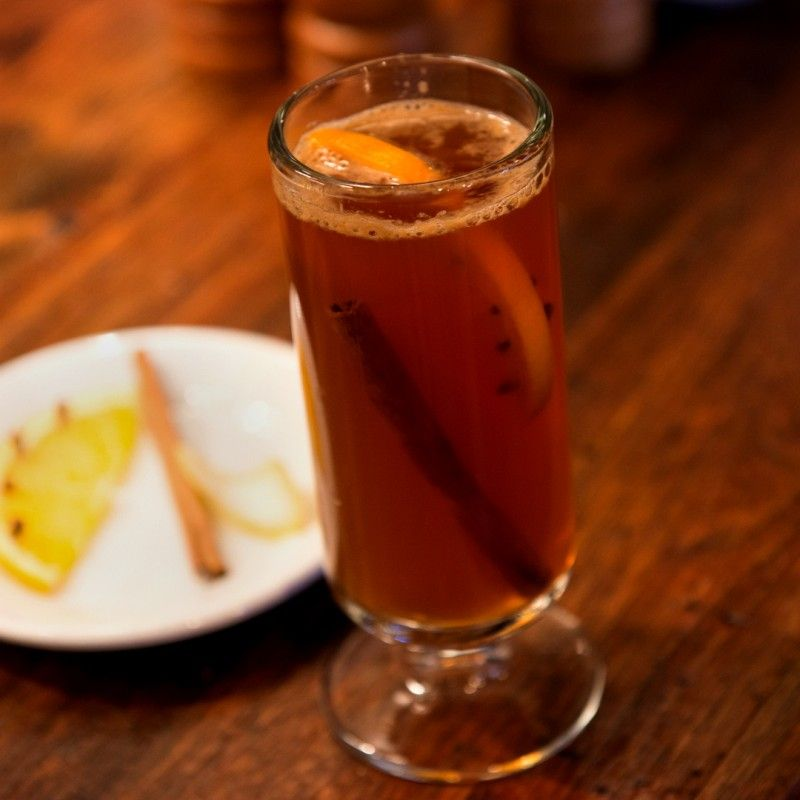 Three Hot Drinks For Cold Winter Nights: Pimm's Hot Toddy