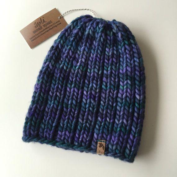 Mega Rib Instant PDF DOWNLOAD Knitting Pattern Super Bulky ...