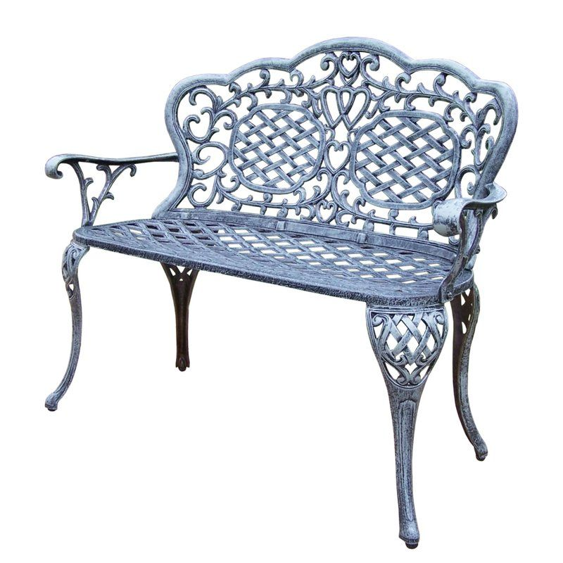 Oakland Living Mississippi Aluminum Garden Bench Discover The Best Aluminum Furniture And Aluminum Benches For Your Pat Oakland Living Outdoor Bench Love Seat