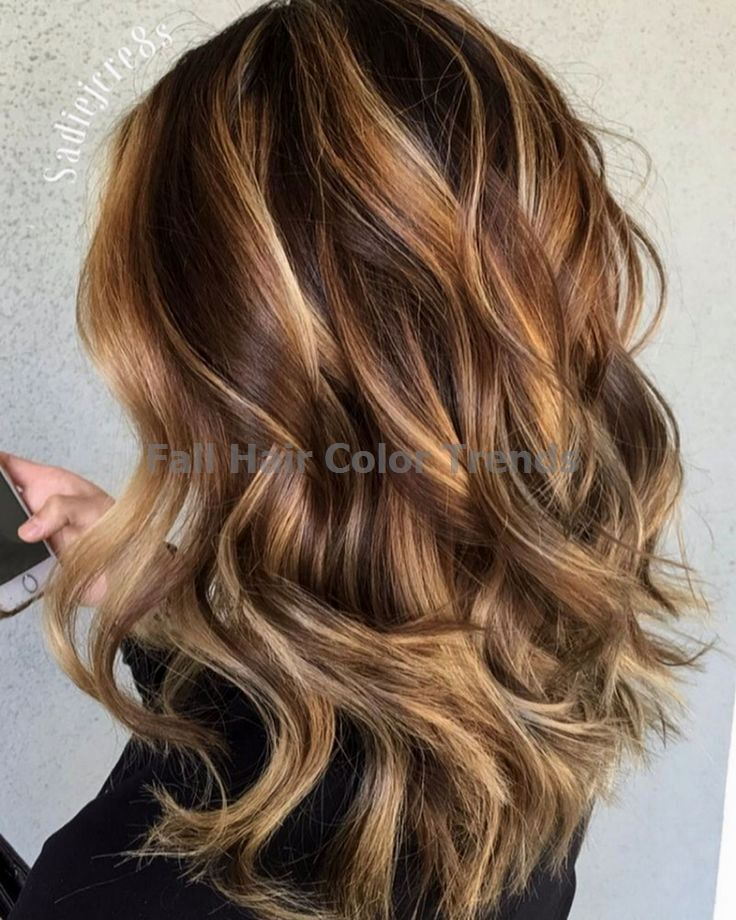 50 Ideas for Light Brown Hair with Highlights and… #fallhaircolors